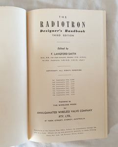 The Radiotron Designer's Handbook edited by F. Langford Smith