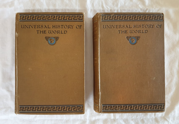 Universal History of the World by J. A. Hammerton (Volumes 1 and 2)