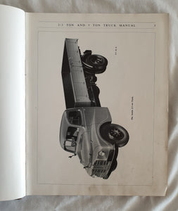 Austin 2/3 Ton and 5 Ton Trucks Service Manual