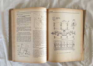 "Workshop Manual for the Humber Super Snipe Humber Pullman Limousine and 6-Cylinder ""Q"" Type Commer Engines"