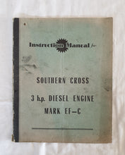 Load image into Gallery viewer, Instruction Manual for Southern Cross 3 h.p. Diesel Engine Mark EF-C