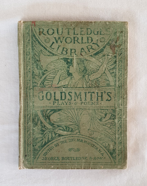 Plays and Poems  by Oliver Goldsmith