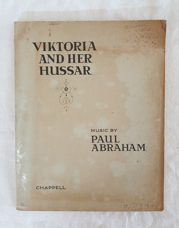 Victoria and her Hussar Music by Paul Abraham