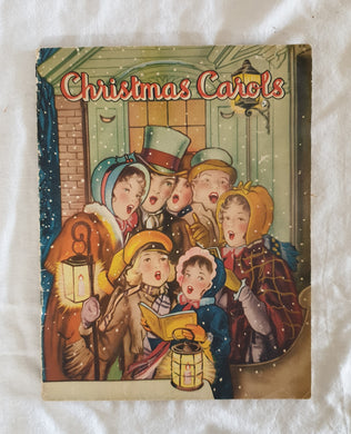 Christmas Carols  Selected and Arranged by Karl Schulte  with illustrations by F. D. Lohman