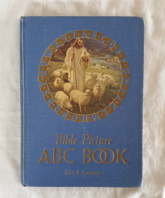 Bible Picture ABC Book by Elsie E. Egermeier