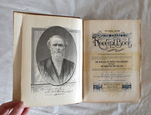 Load image into Gallery viewer, Dr Chase's Third Last and Complete Receipt Book by A. W. Chase