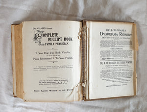 Dr Chase's Third Last and Complete Receipt Book by A. W. Chase