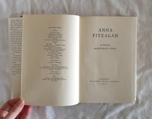Anna Fitzalan by Marguerite Steen