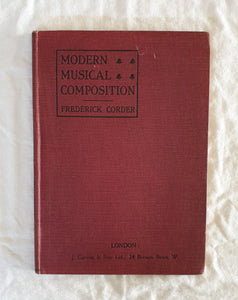 Modern Musical Composition by Frederick Corder
