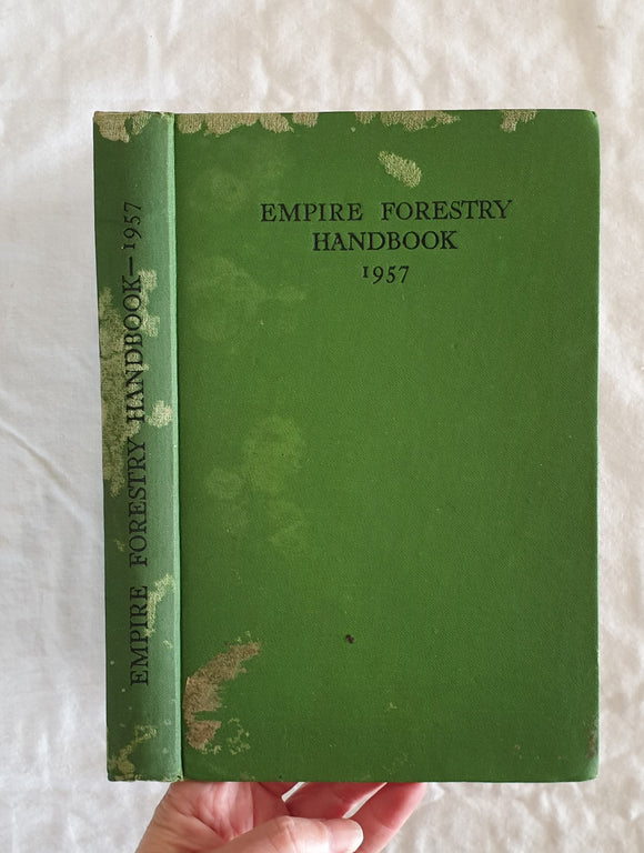 Empire Forestry Handbook 1957