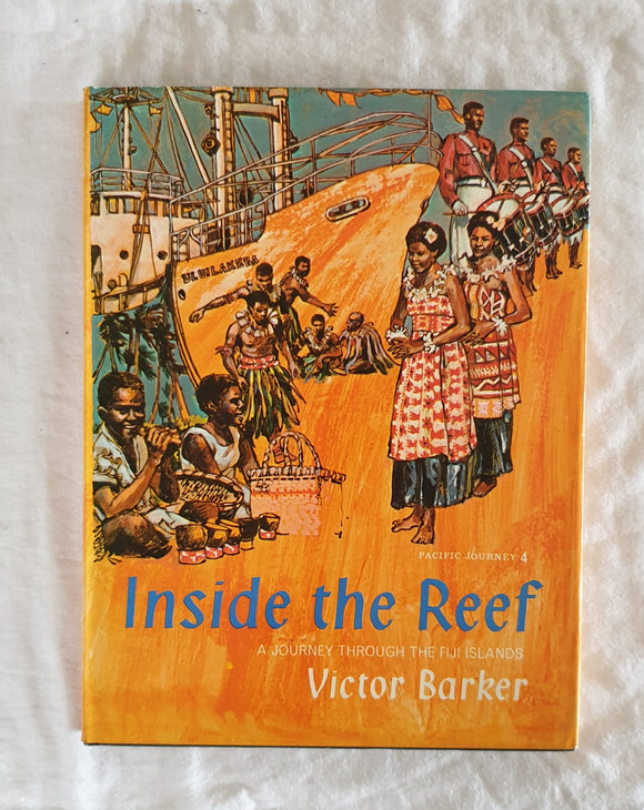 Inside The Reef  A Journey Through The Fiji Islands  by Victor Barker