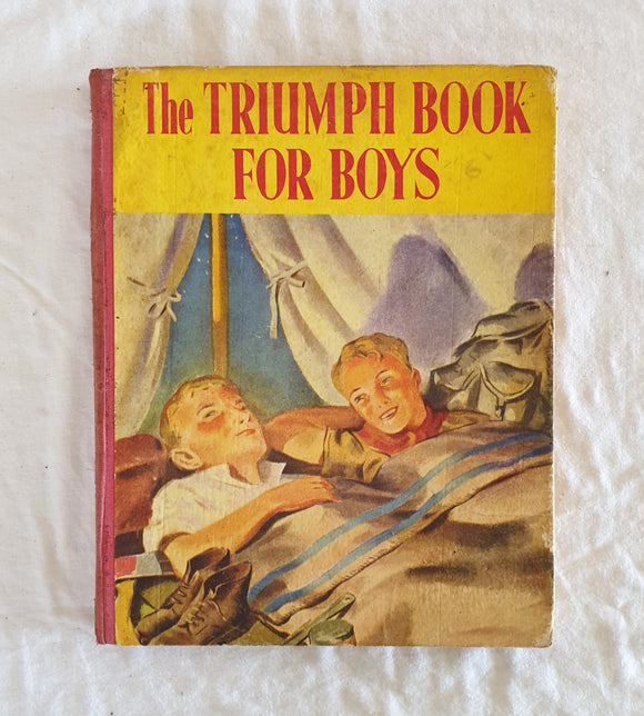 The Triumph Book for Boys  The Children's Press