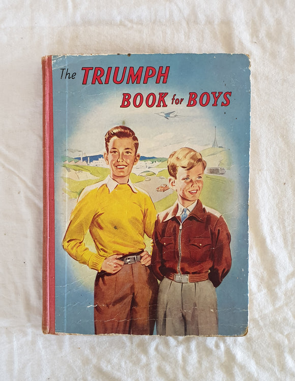 The Triumph Book for Boys illustrated by Gaffron