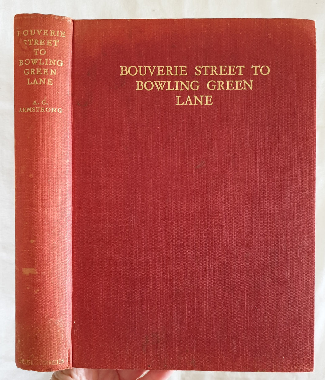 Bouverie Street to Bowling Green Lane  Fifty-five Years of Specialized Publishing  by Arthur C. Armstrong