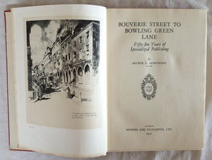 Bouverie Street to Bowling Green Lane by Arthur C. Armstrong