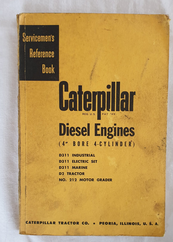 Caterpillar Diesel Engines  Servicemen's Reference Book