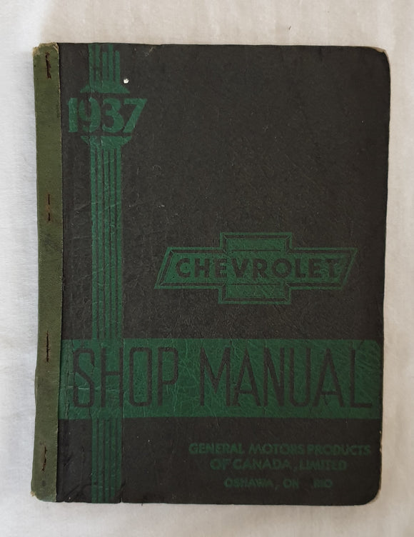 Chevrolet 1937 Shop Manual - General Motors