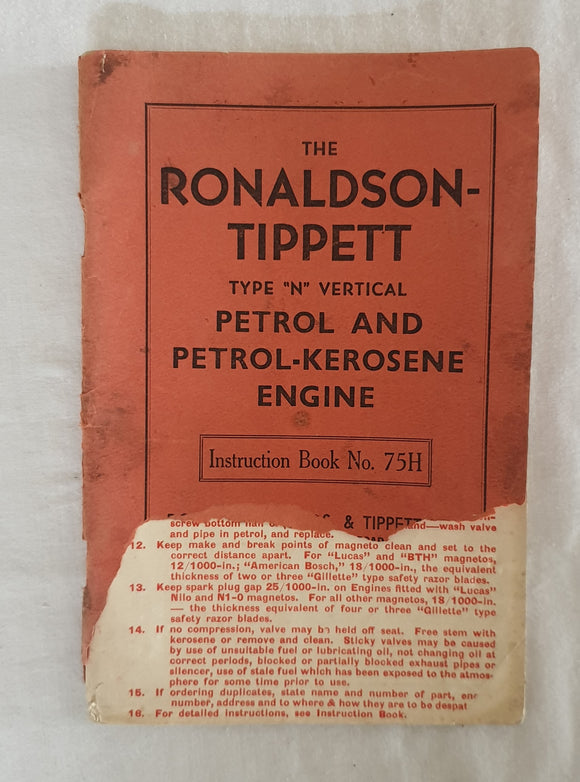 The Ronaldson-Tippett Type