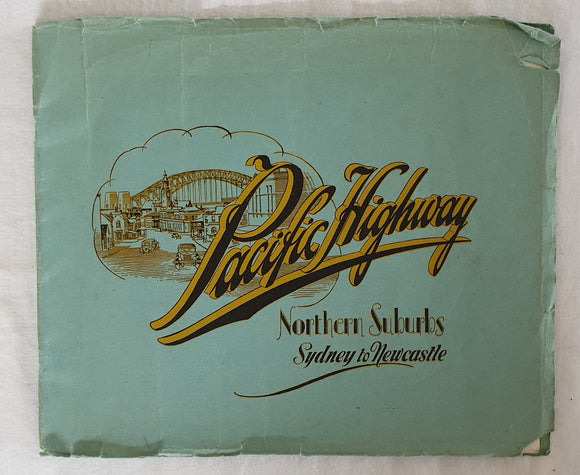 Pacific Highway Northern Suburbs Sydney to Newcastle  by H. Phillips