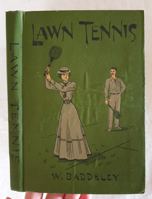 Lawn Tennis  by Wilfred Baddeley