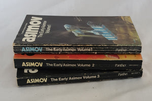 The Early Asimov  by Isaac Asimov  Three Volumes - Complete