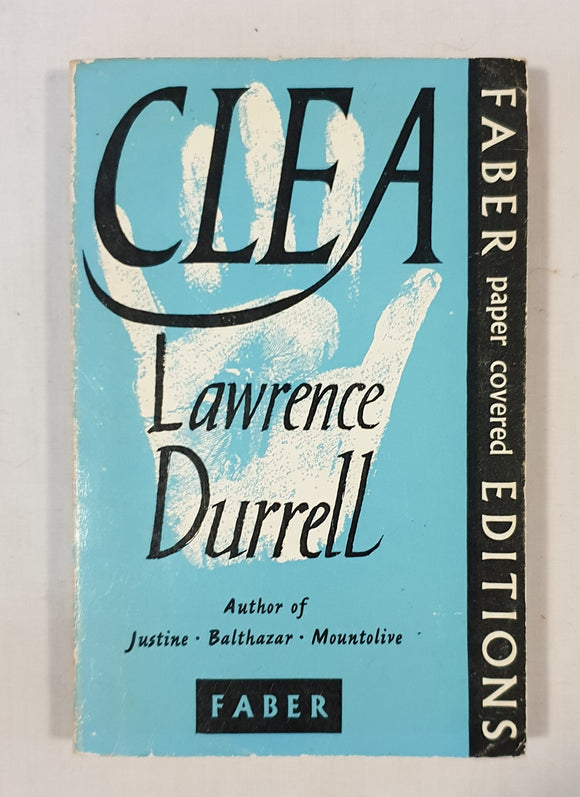 Clea by Lawrence Durrell