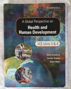 A Global Perspective on Health and Human Development