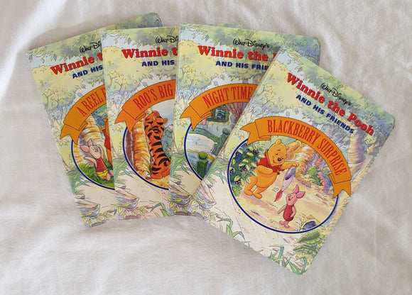 Winnie the Pooh and His Friends - Set of 4 (Walt Disney Company)
