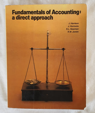 Fundamentals of Accounting:  A Direct Approach