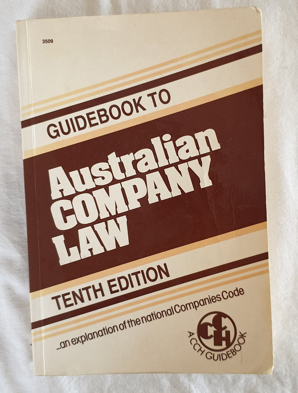 Guidebook to Australian Company Law