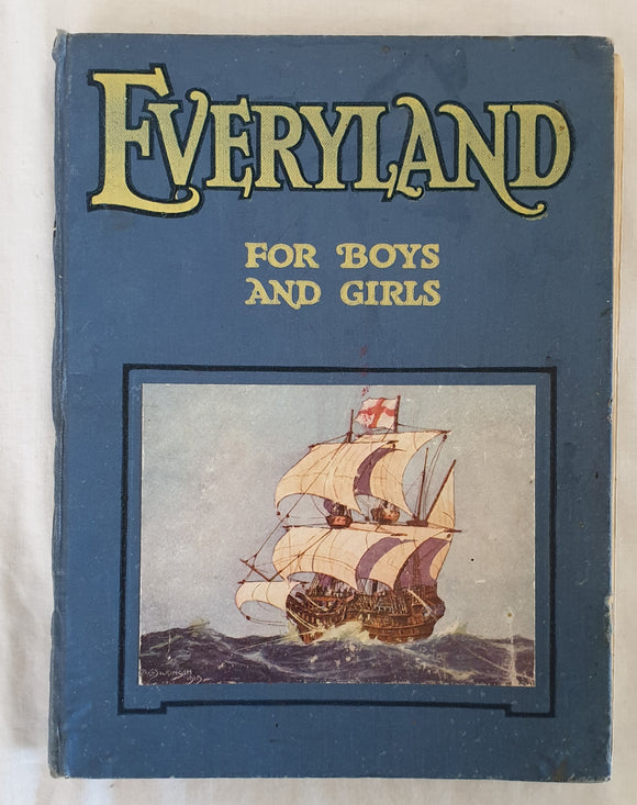 Everyland For Boys And Girls by W. E. Cule