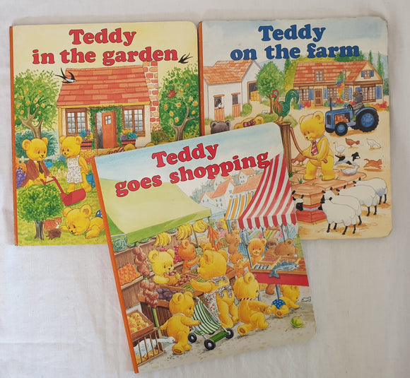 Teddy Board Books by Maureen Spurgeon