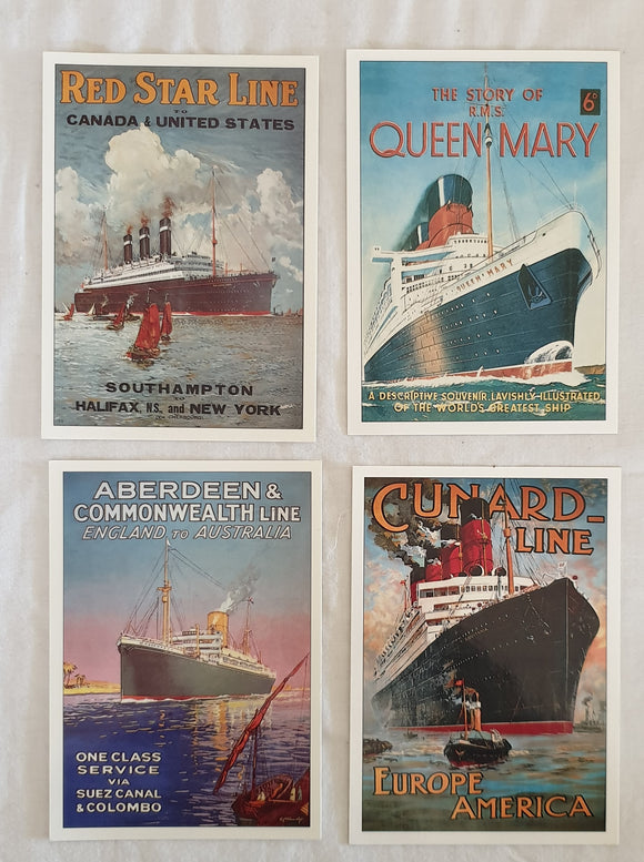 Ocean Liners Series (A) from The Robert Opie Collection