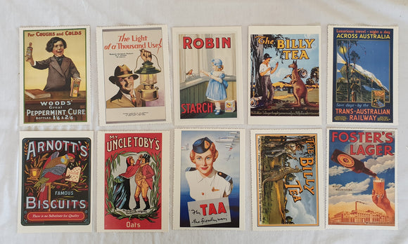 Post-Age Advance Australia Nostalgic Postcards & Prints
