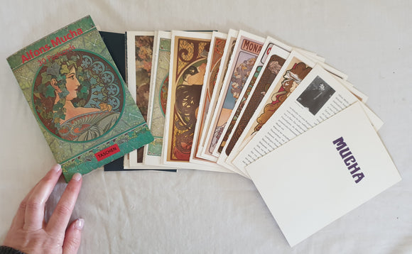 Alfons Mucha 30 Postcards