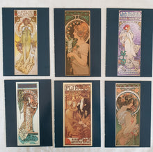 Load image into Gallery viewer, art nouveau postcards