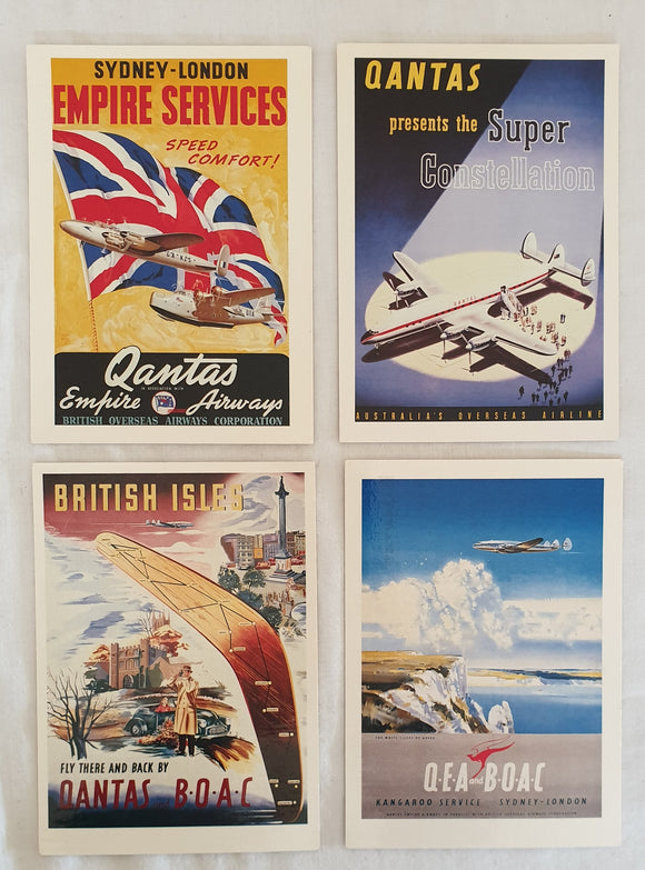 Qantas Postcards - Qantas Historical Archives