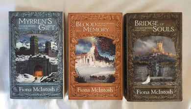 The Quickening Trilogy by Fiona McIntosh (complete set)