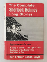 Load image into Gallery viewer, The Complete Sherlock Holmes: Long Stories by Sir Arthur Conan Doyle