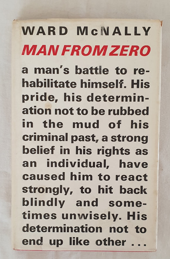 Man From Zero by Ward McNally