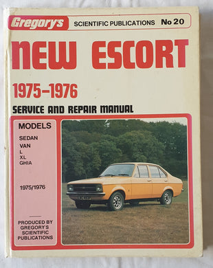 New Escort 1975-1976  Service and Repair Manual