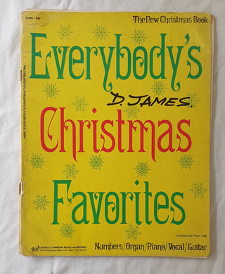 Everybody's Christmas Favorites  The New Christmas Book