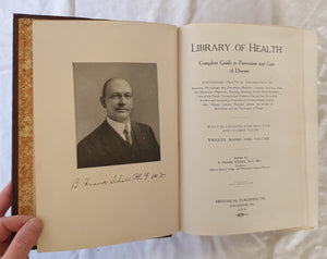 Library of Health edited by B Frank Scholl
