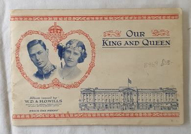 Our King and Queen  Issued by W. D. & H. O. Wills  Branch of the Imperial Tobacco Company
