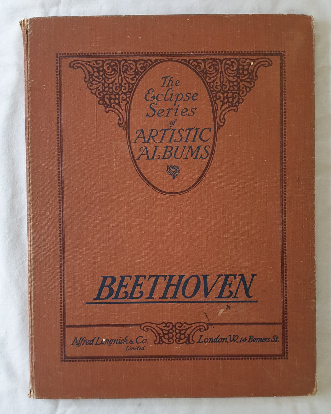 Beethoven Favourite Pieces  The Eclipse Series of Artistic Pianoforte Albums No. 3  Edited and Revised by Eugen D'Albert