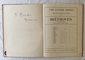 Beethoven Favourite Pieces by Eugen D'Albert