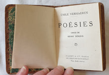 Load image into Gallery viewer, Poesies Choix De Henry Derieux by Emile Verhaeren