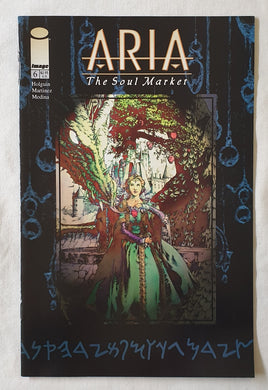 Aria The Soul Market Issue #6 by Brian Holguim and Brian Haberlin