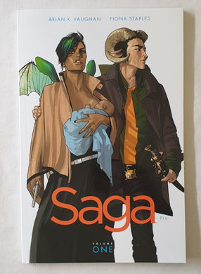 Saga Volume One by Brian K. Vaughan and Fiona Staples