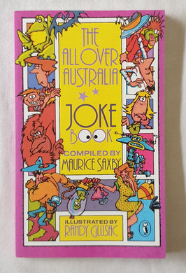 The All Over Australia Joke Book by Maurice Saxby